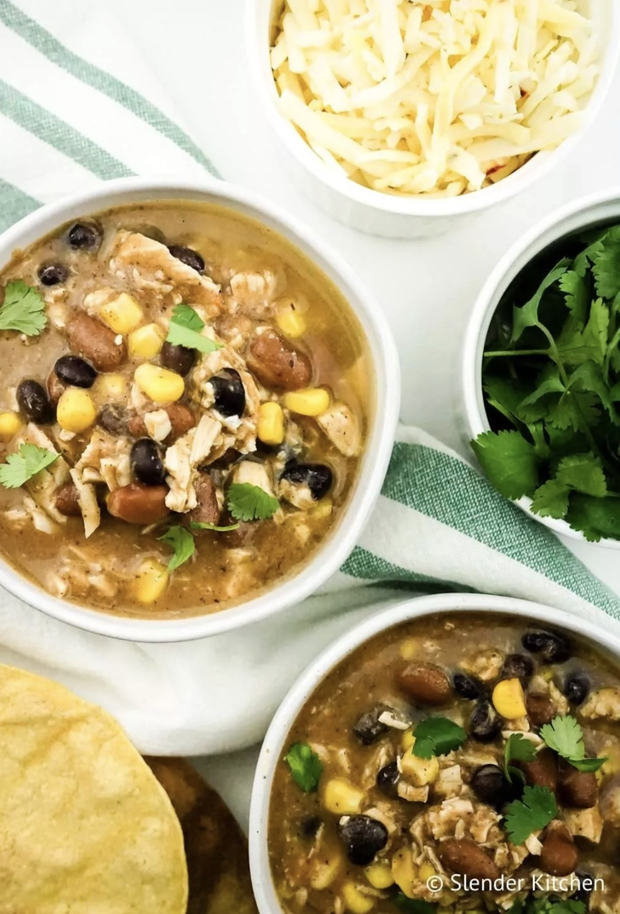 Weight Watchers taco soup with zero points