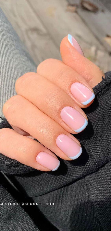 White French tip nail designs