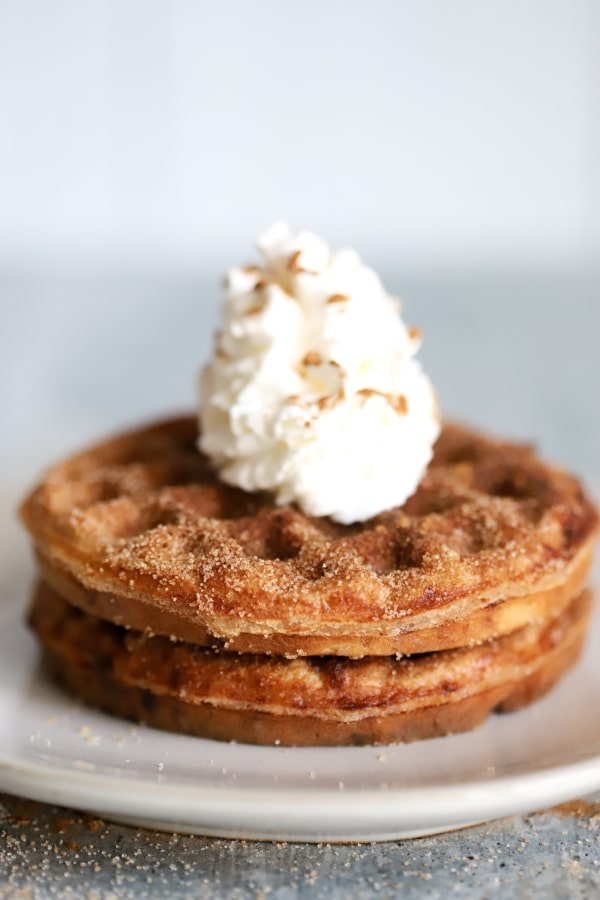 Snickerdoodle Keto Chaffle