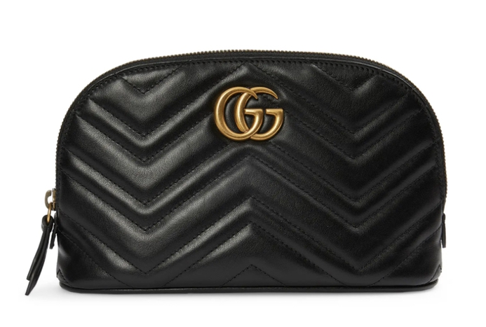 Luxury gifts for the woman who has everything: Gucci cosmetics case