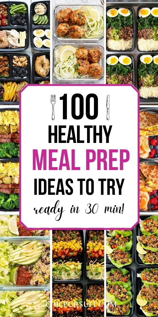 100 Healthy Meal Prep Recipes For Weight Loss You Need To Try