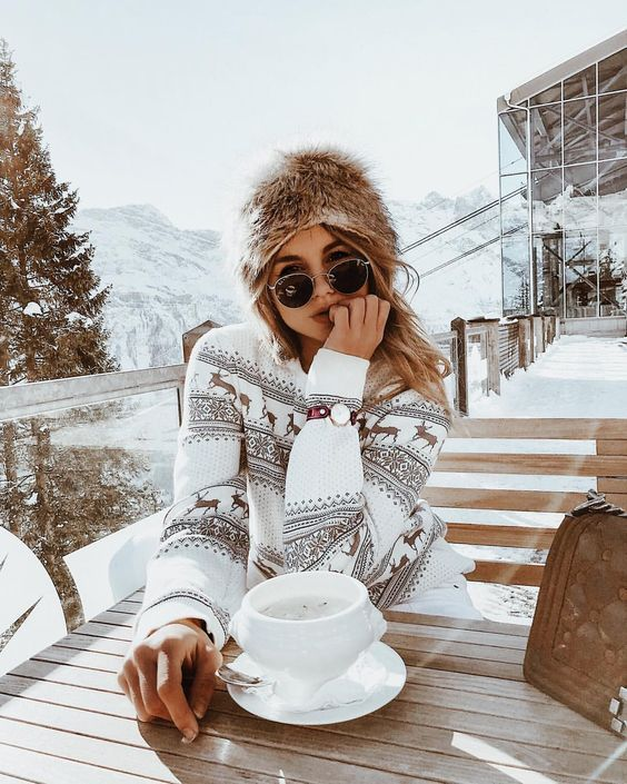 Casual winter outfits for snow
