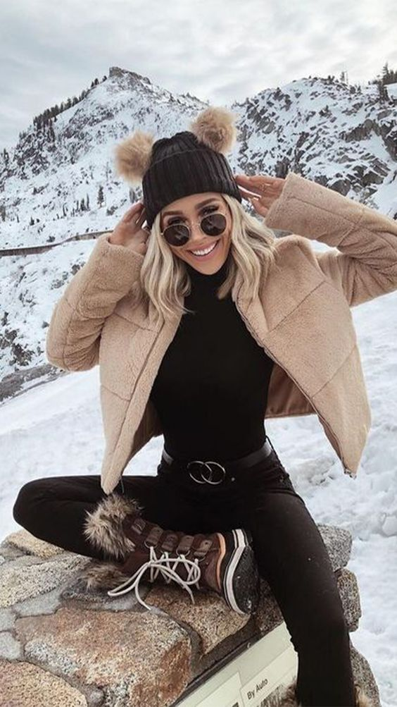 Cute ski outfits and winter outfits
