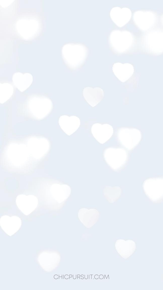 Light blue cute wallpapers - light blue heart wallpapers