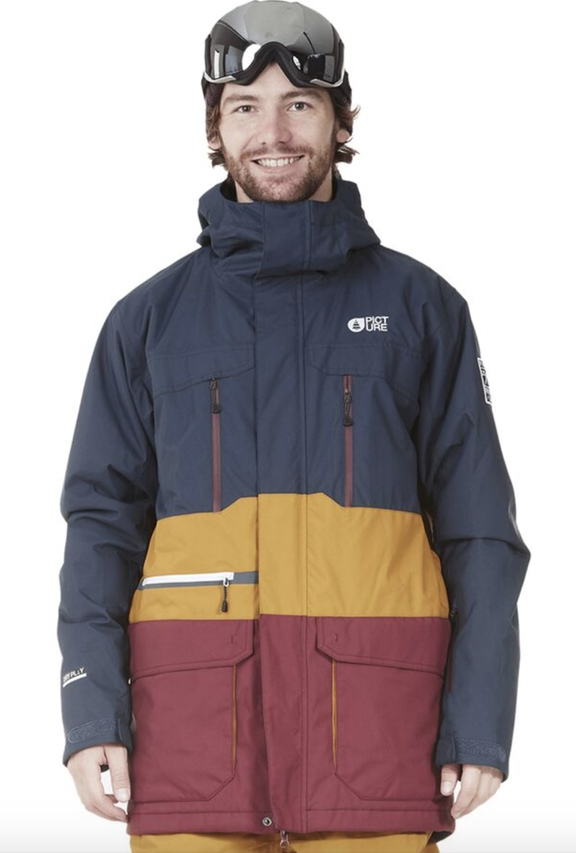 Best cruelty free and sustainable brands for ski jackets: Picture Organic