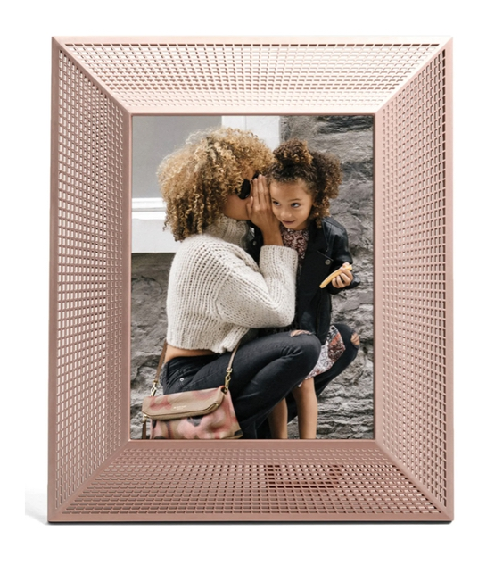 Luxury home gifts for mother-in-law: rose gold picture frame