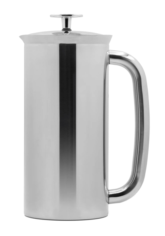 Best gifts for the hostess: silver French press