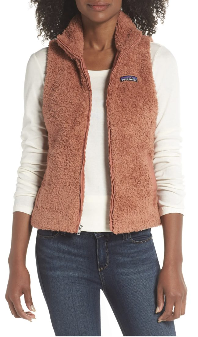 Luxury gardening gifts for mother-in-law: Patagonia vest