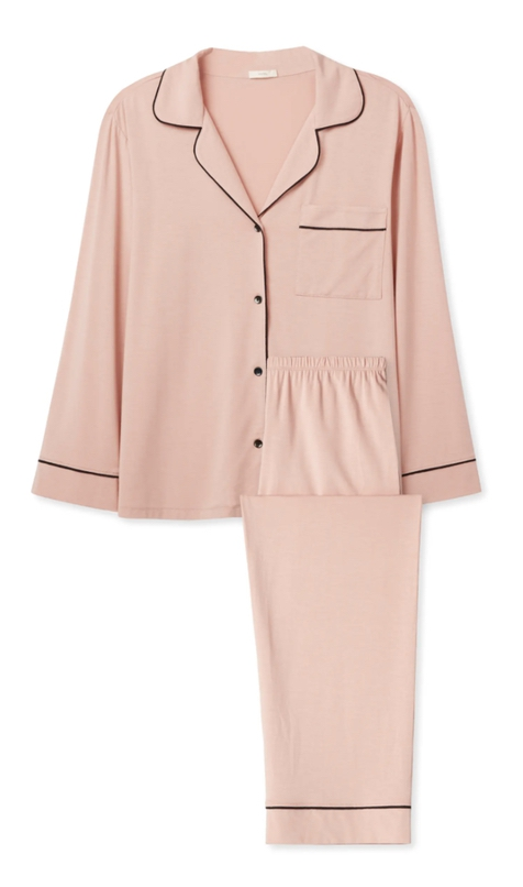 Light pink pajamas gift idea for her