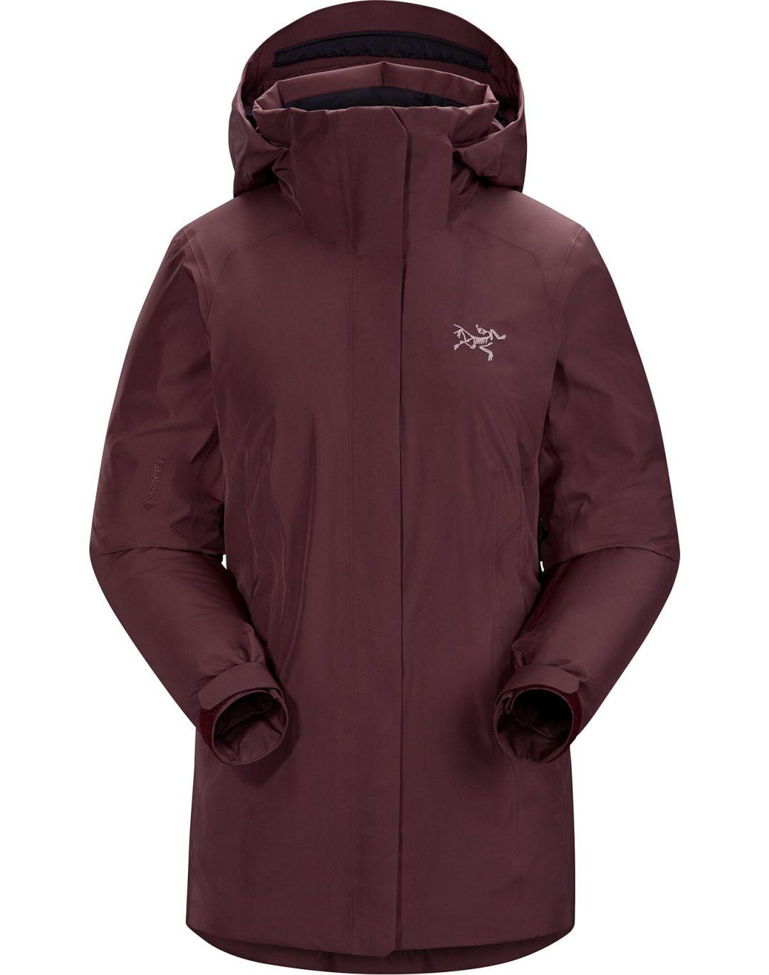 Luxury ski coat for women by Arc'teryx