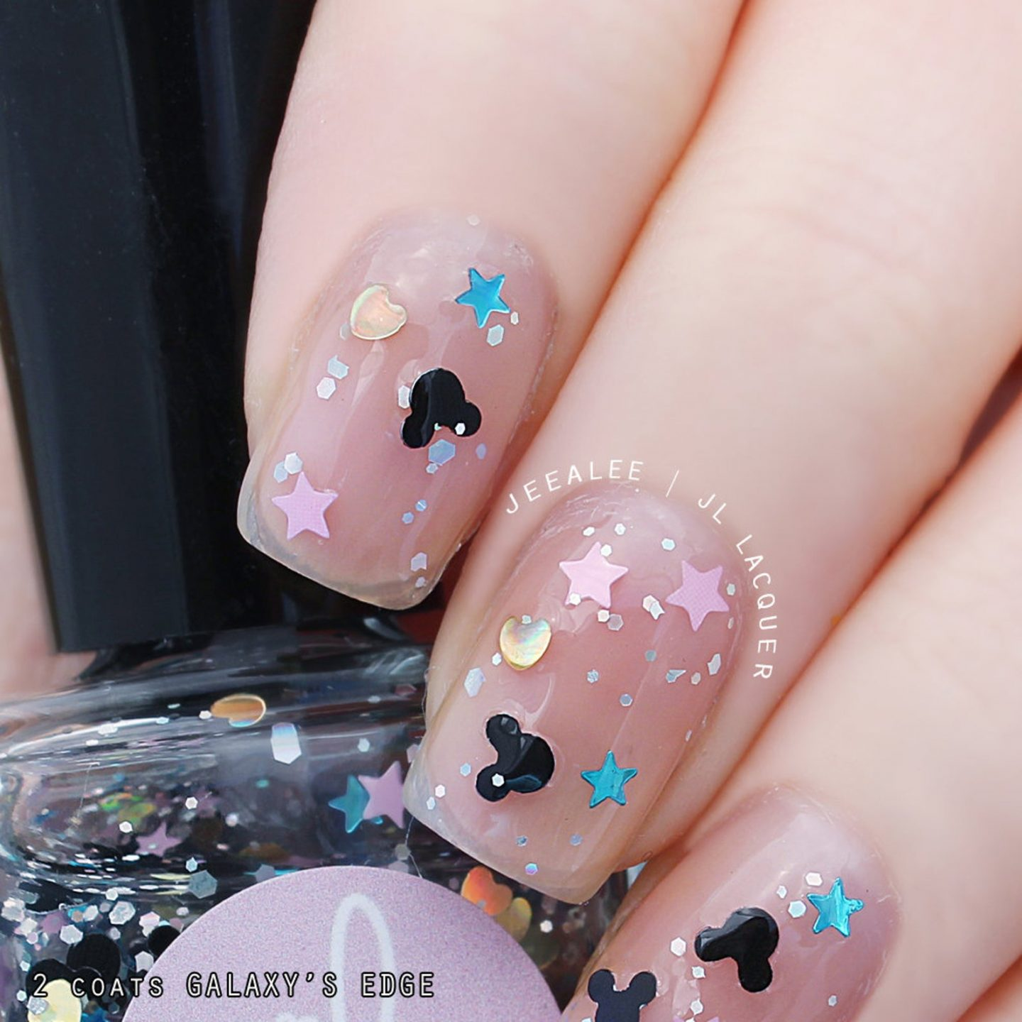Cute Mickey Mouse nails