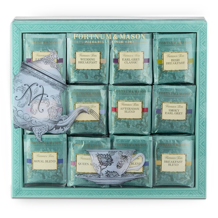 Luxury tea gifts for her: Fortnum & Mason tea selection