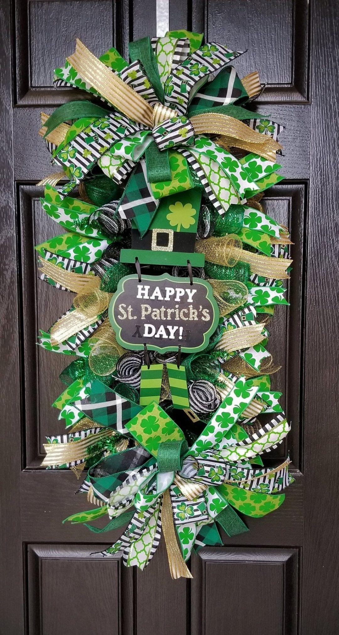 Irish wreaths for St. Patrick's Day