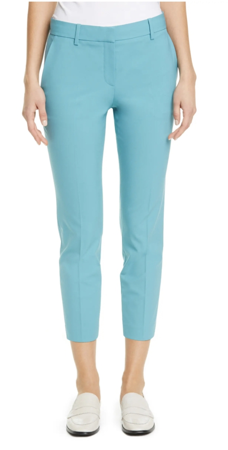 Light blue trousers perfect for weddings