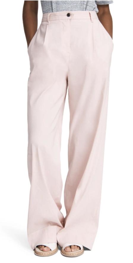 Pink high waisted pants