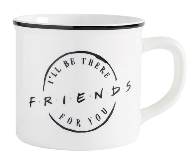Affordable gifts that every girl wants from her boyfriend: Friends classic logo mug