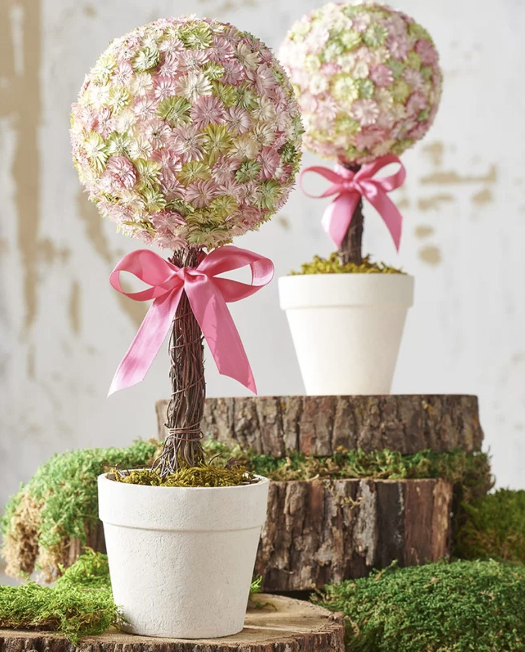 Pink Easter Topiary