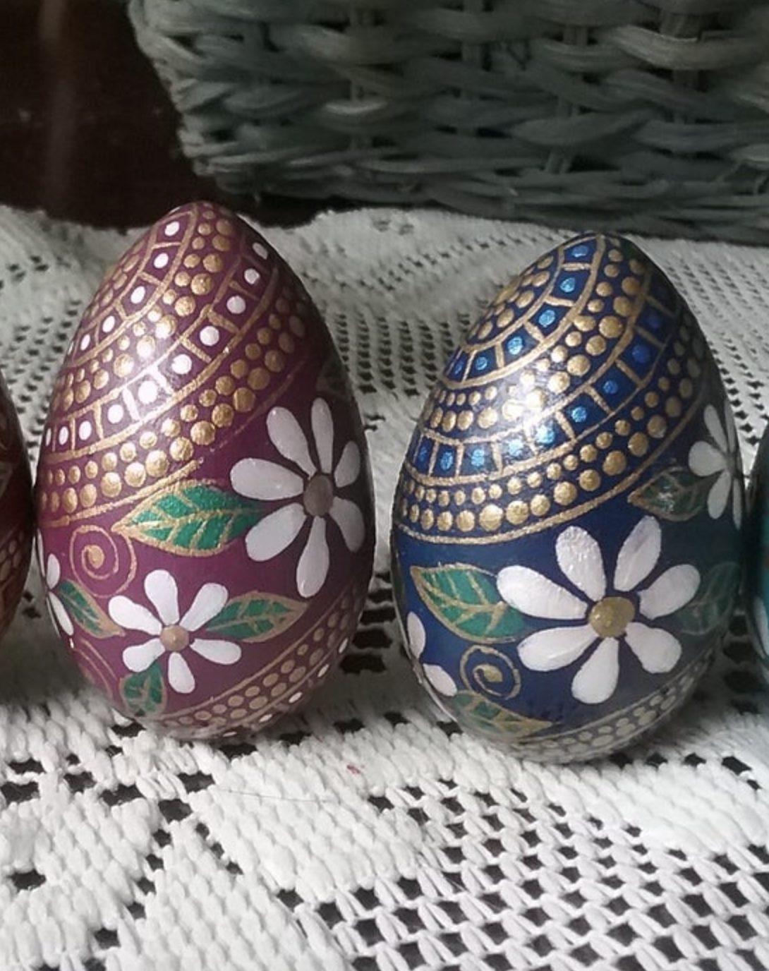 Creative painted Easter egg decor ideas