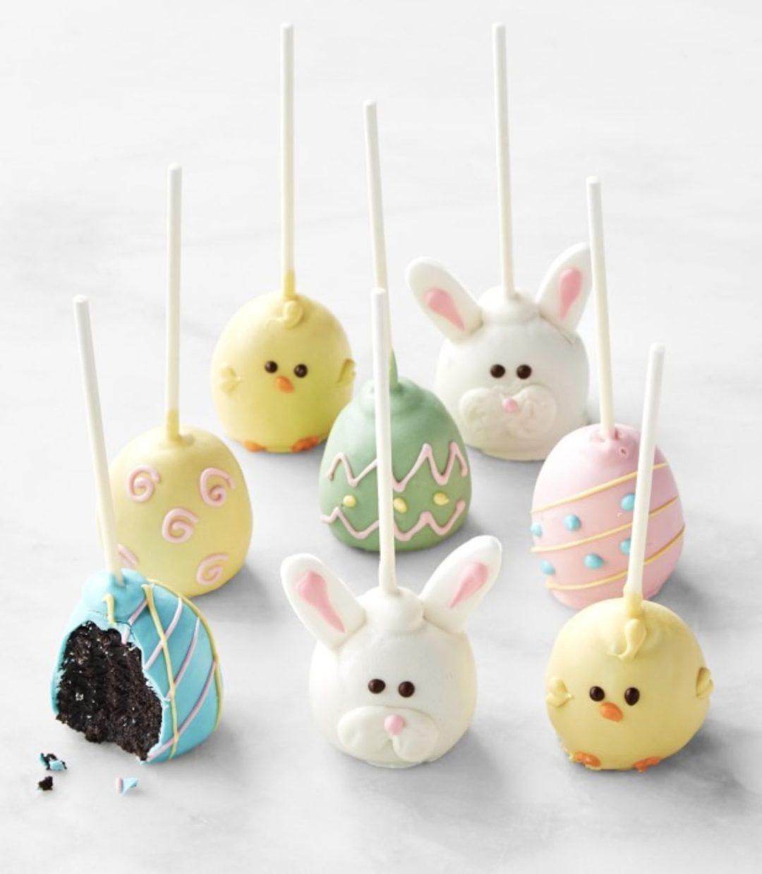 Cute Easter Cake Truffles
