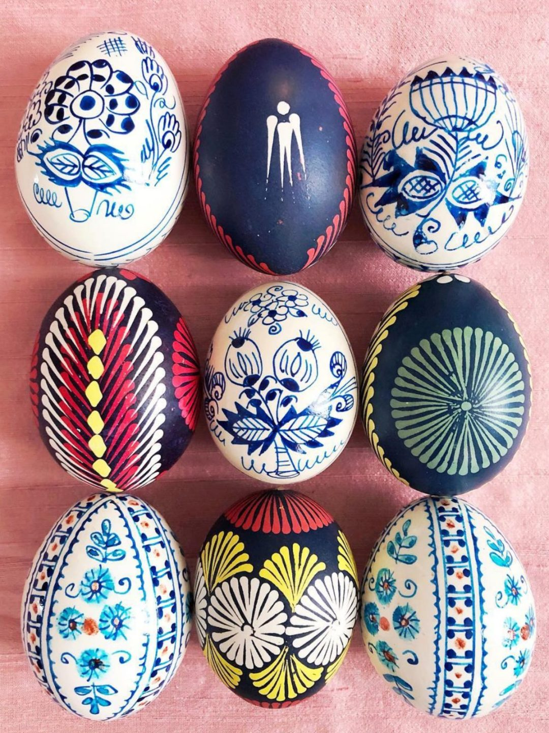 Easter egg painting ideas with marker