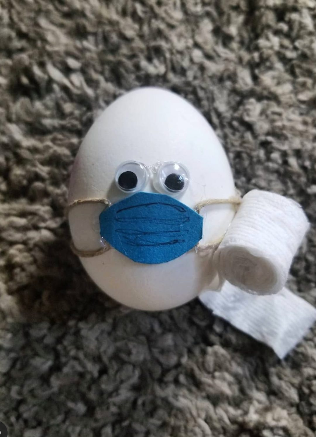 Funny and creative lockdown Easter egg decorating ideas