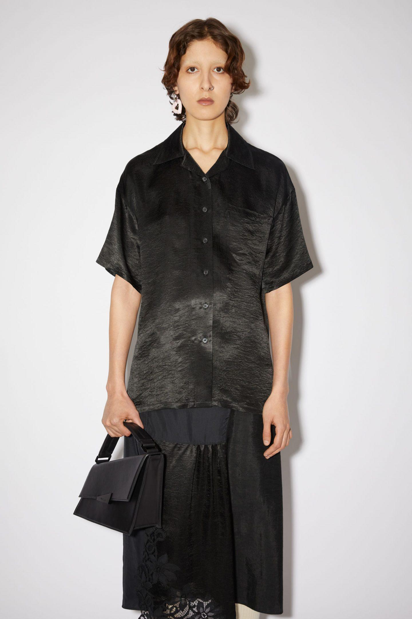 ACNE studios black clothing