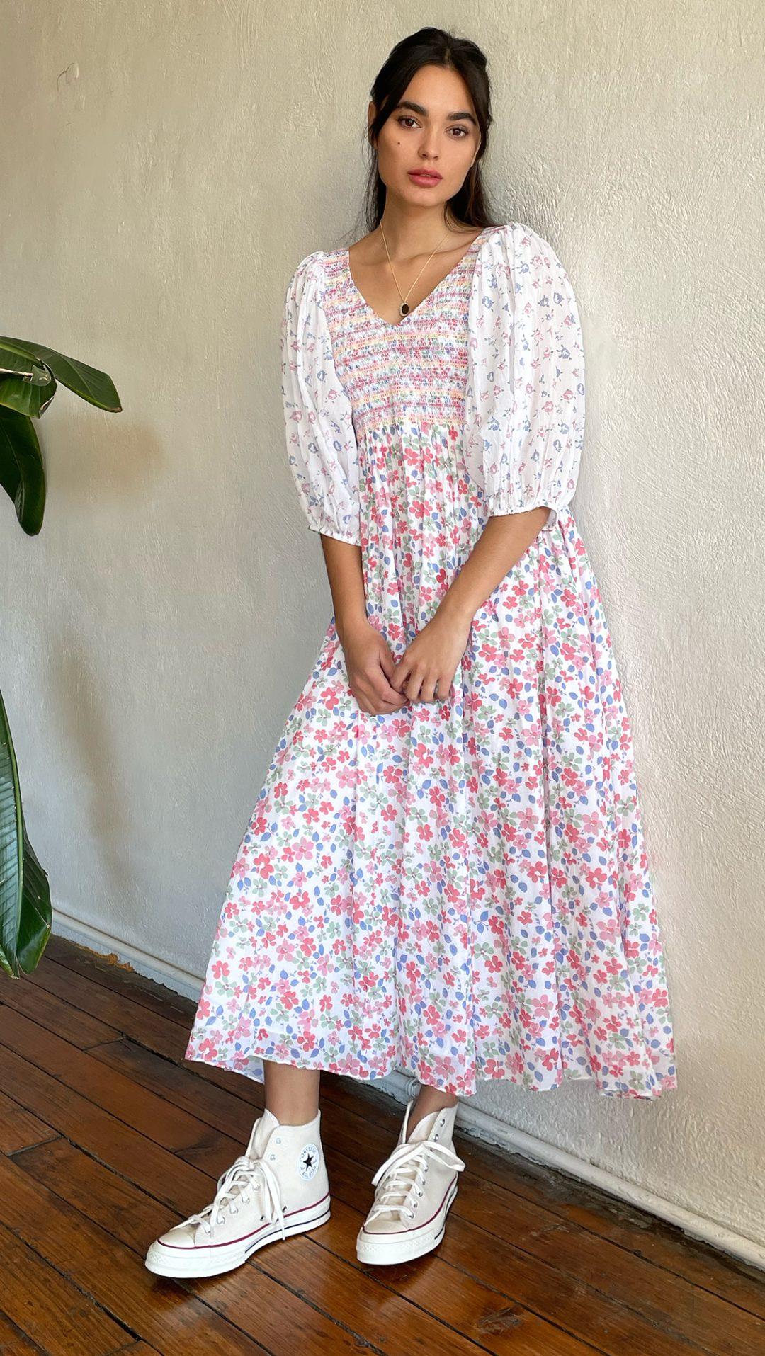 Floral cottagecore dresses