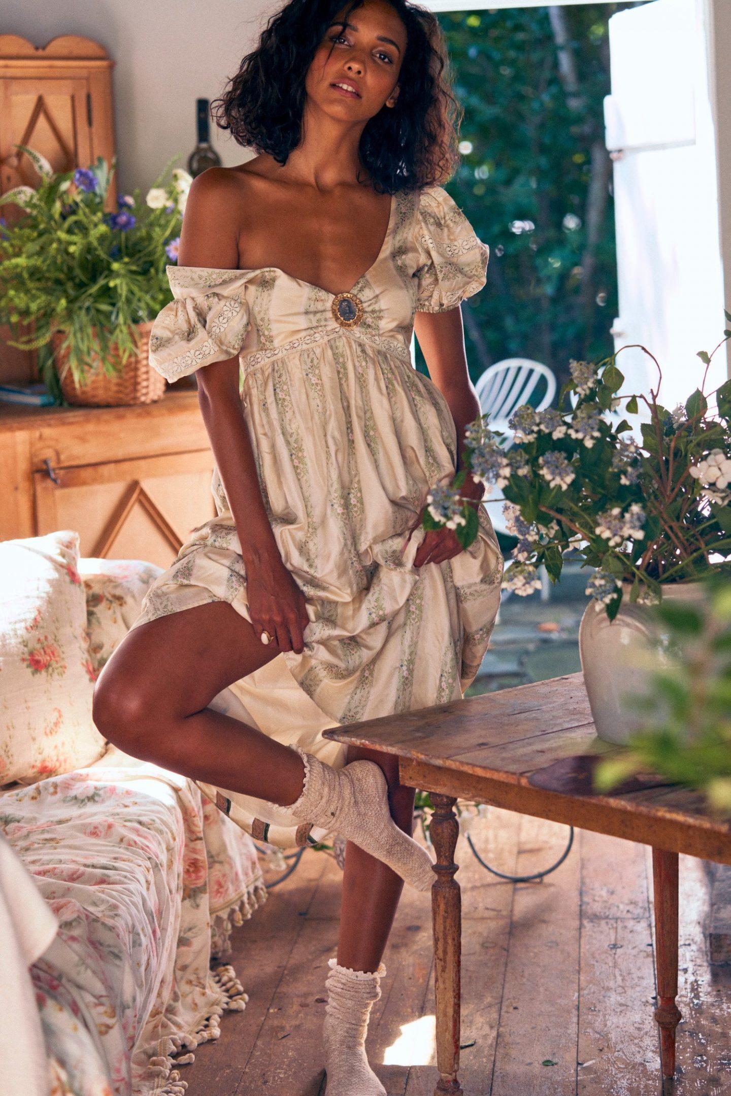 Romantic cottagecore maxi dresses