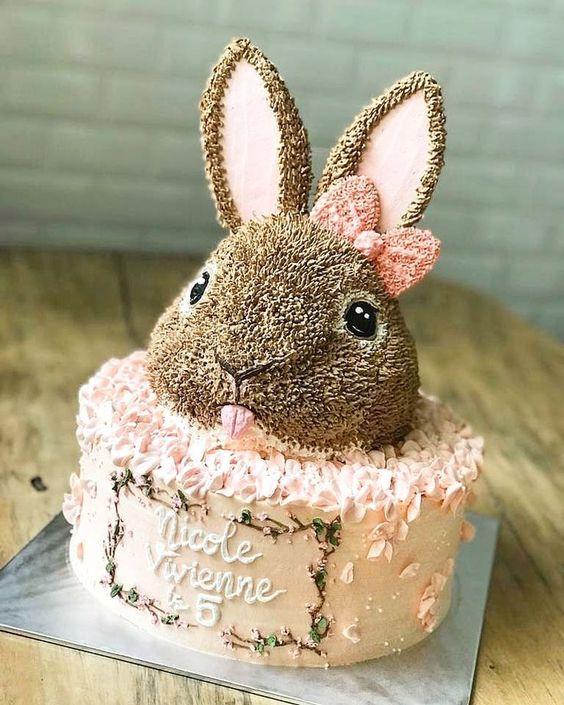 Cute Easter Bunny Cake Decorating Ideas