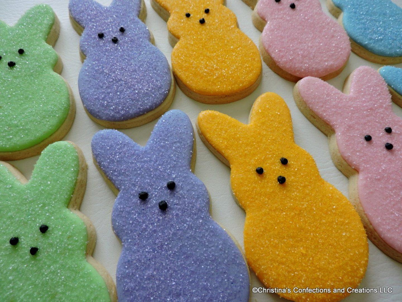 Cute Peeps Cookies For Easter