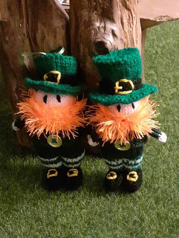 St. Patrick's Day decor ideas - leprechaun decor