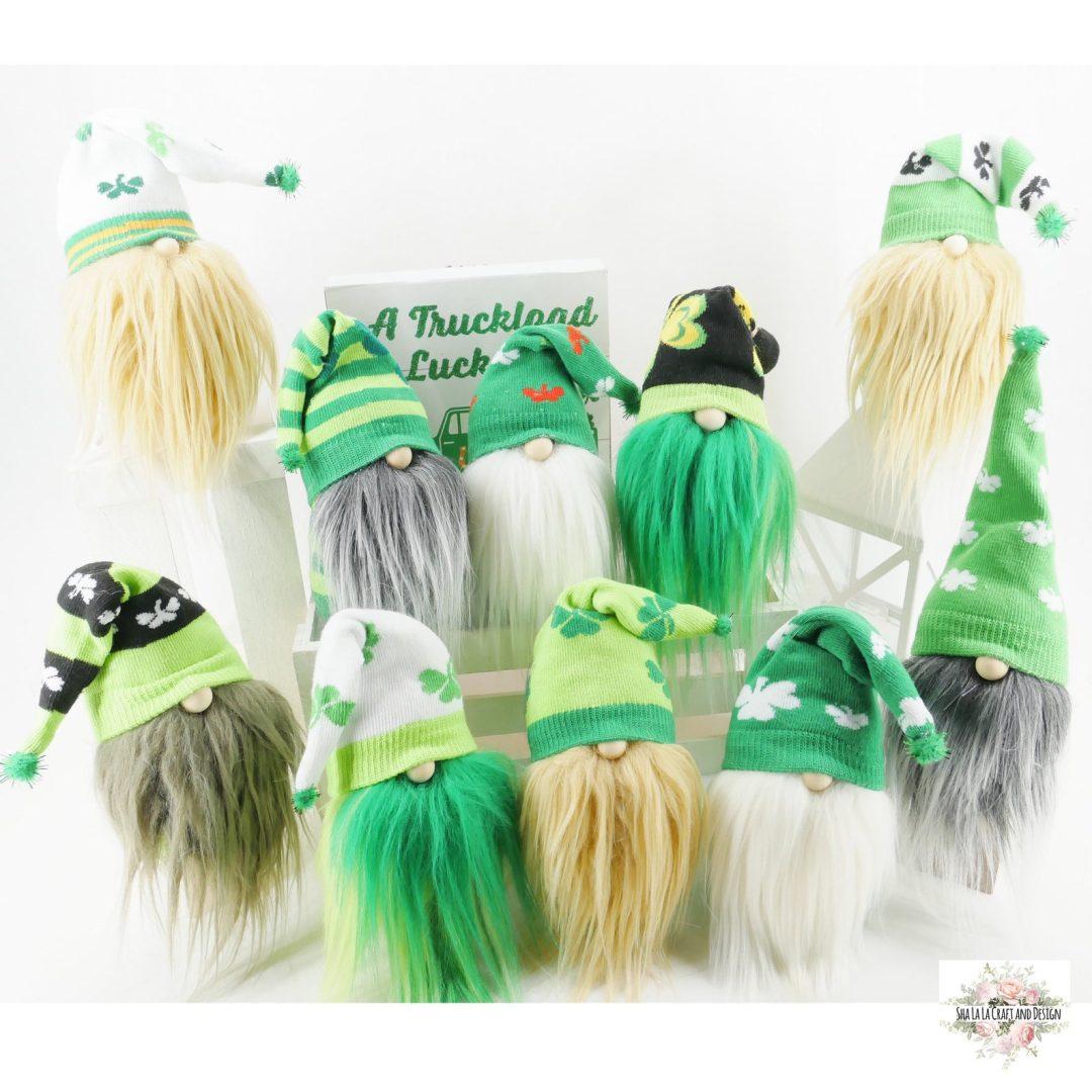 St. Patrick's Day gnomes