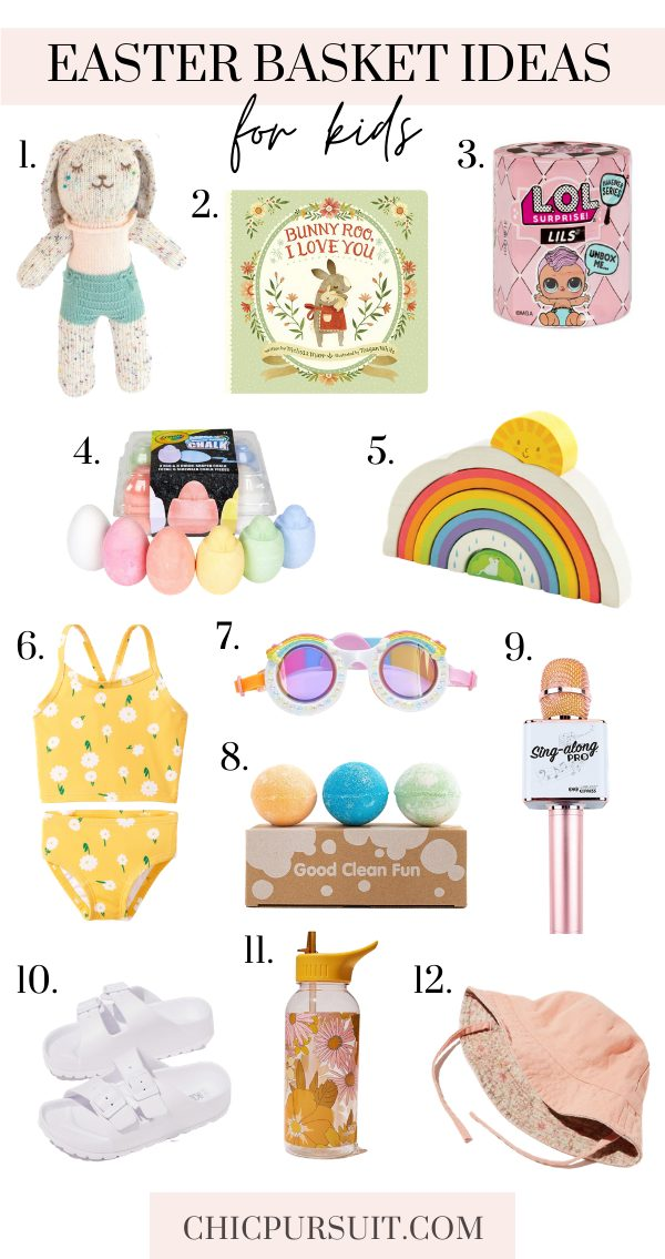 The best non-candy Easter basket ideas for kids, toddlers and babies