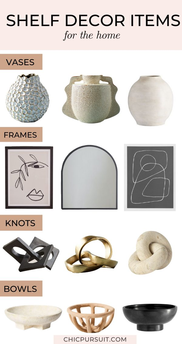 The Best Shelf Decor Styling Items To Create An Instagram Worthy Space