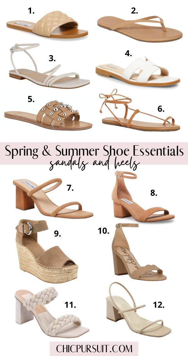 The Best Spring & Summer Shoes To Add To Your Shopping Basket