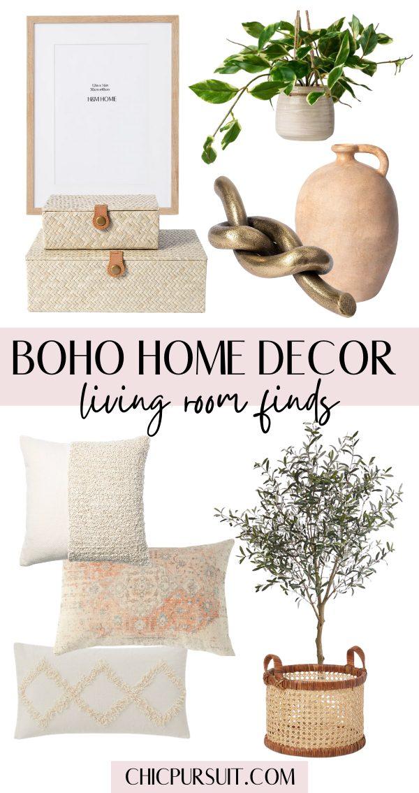 The best boho home decor ideas for the living room