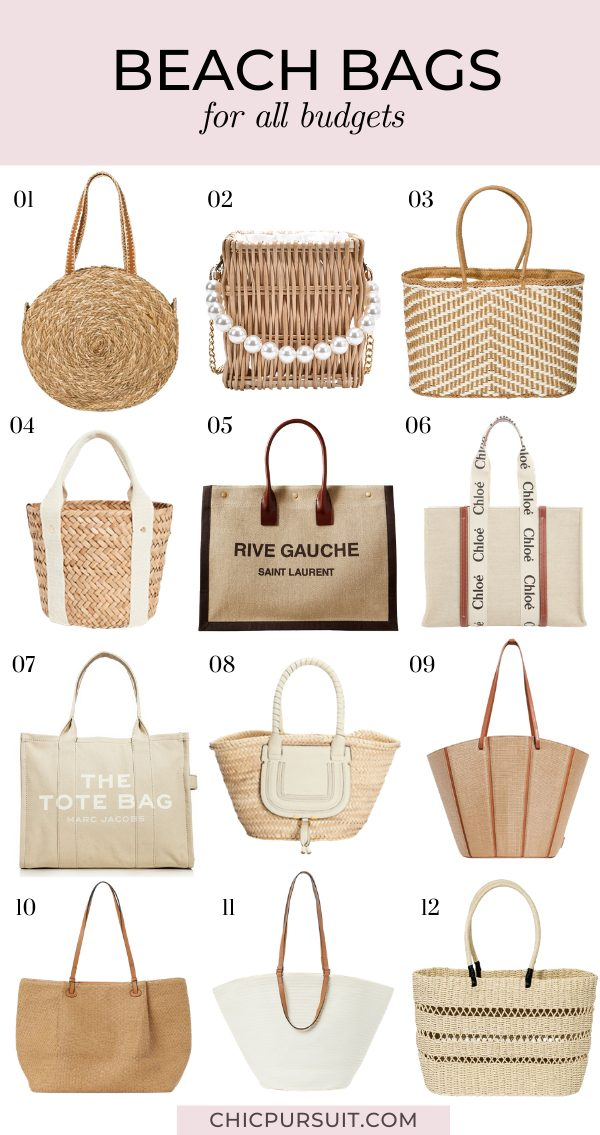 The best beach bags for 2021