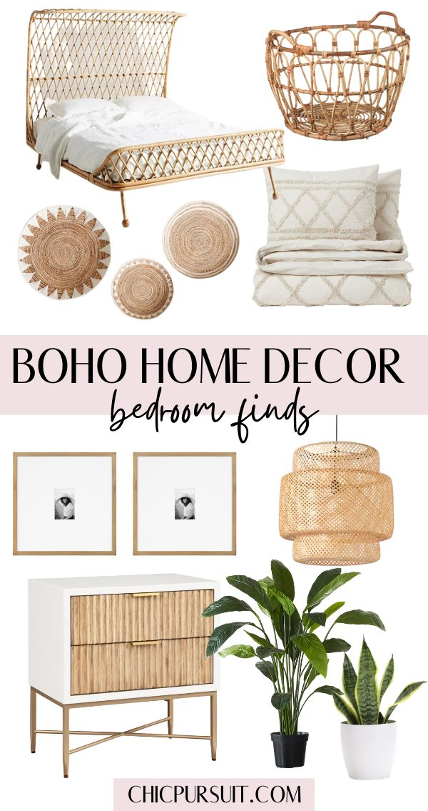 The best boho home decor ideas for the bedroom
