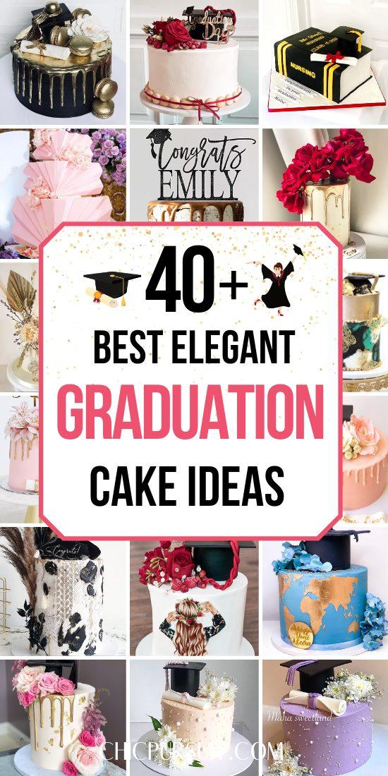 The best elegant graduation cake ideas
