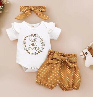 Cute summer outfits for baby girls - newborns and toddlers