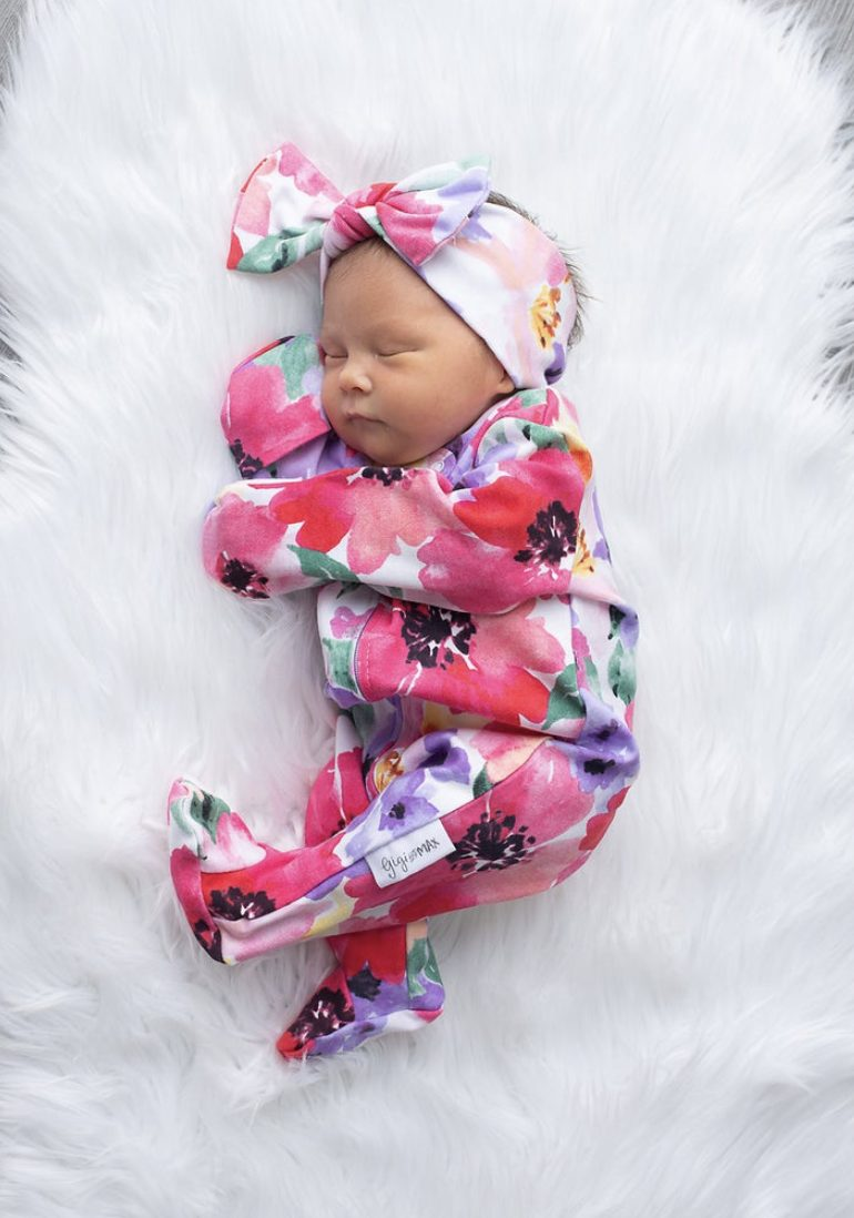 Cute and affordable pink baby girl going home outfit