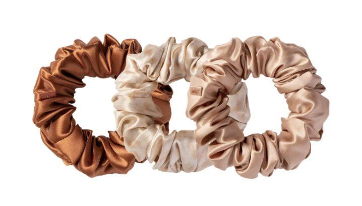 Neutral Slip Pure Silk 3-Pack Hair Ties