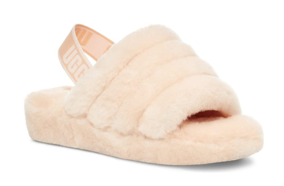 Gifts that every girl wants from her boyfriend: Pink UGG Fluff Yeah Shearling Slippers