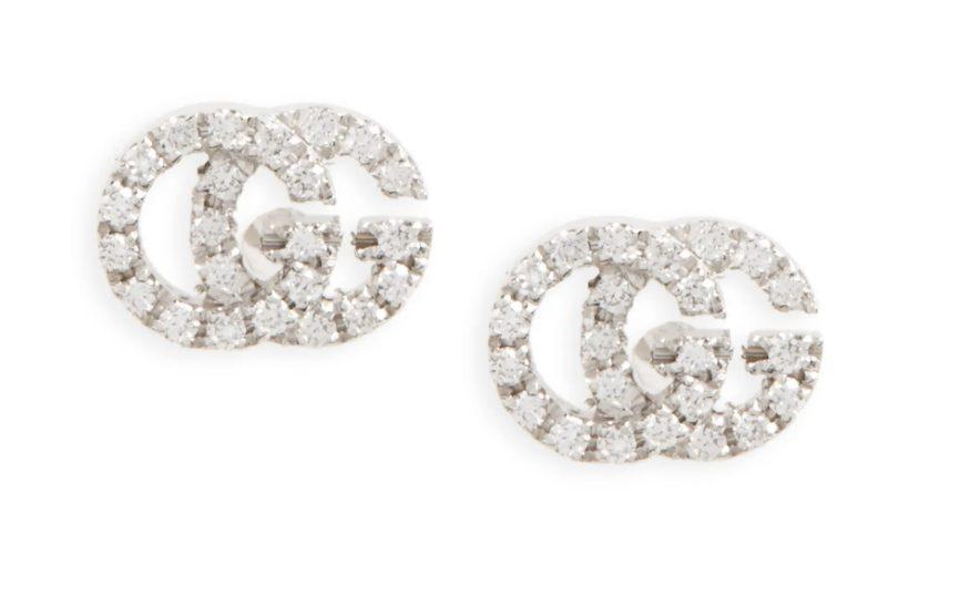 Luxury gifts every girl wants: Gucci Double-G Stud Earrings