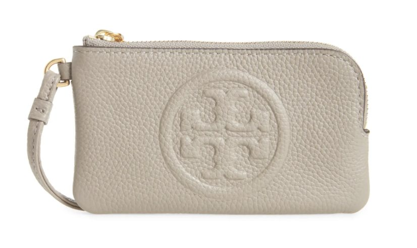 Luxury gifts every girl wants from her boyfriend: Tory Burch Perry Bombé Leather Card Case