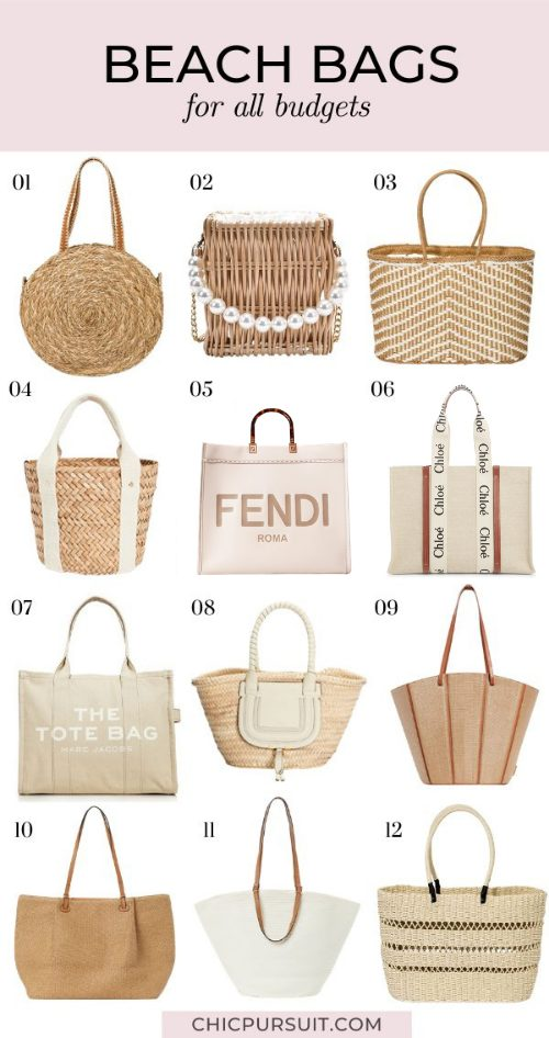 The Best Beach Bags To Take On Your Post-Lockdown Holiday
