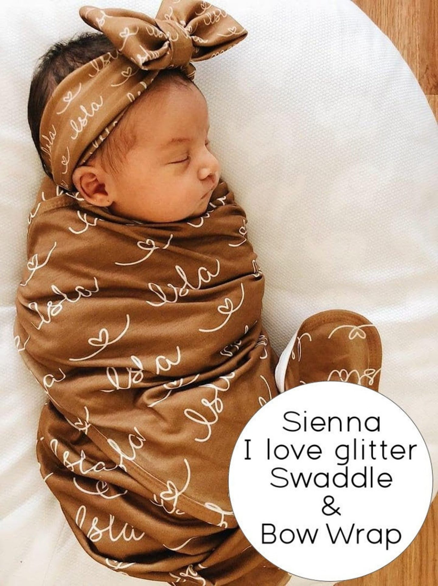 Cute customized baby blanket