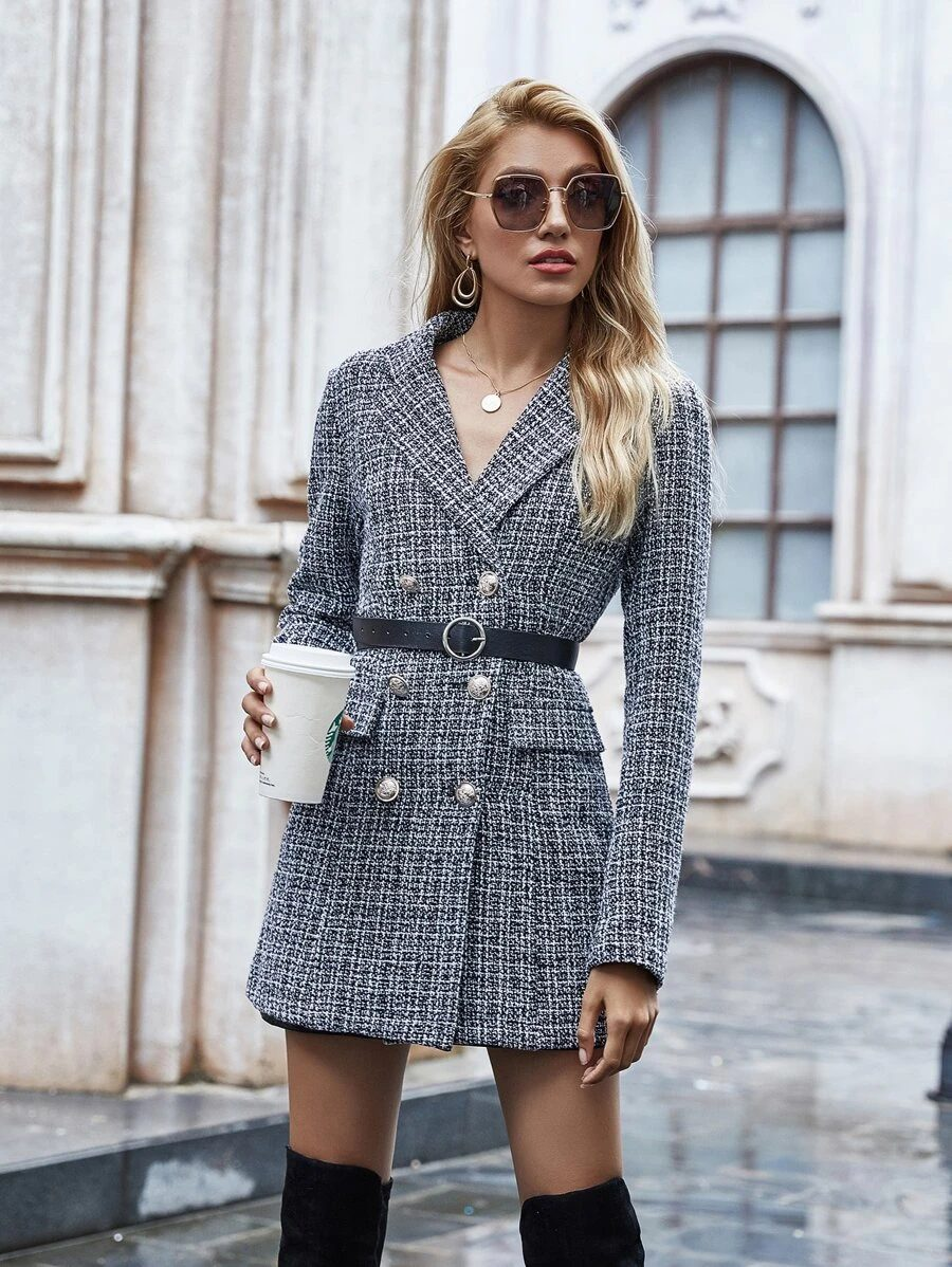Chic business casual blazer outfits
