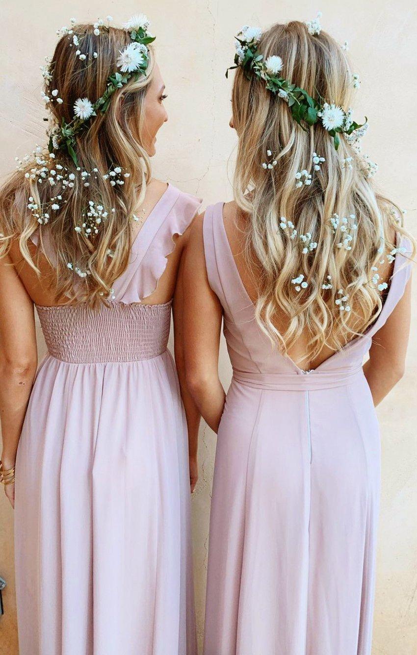 Cute bridesmaid hairstyles and hair ideas