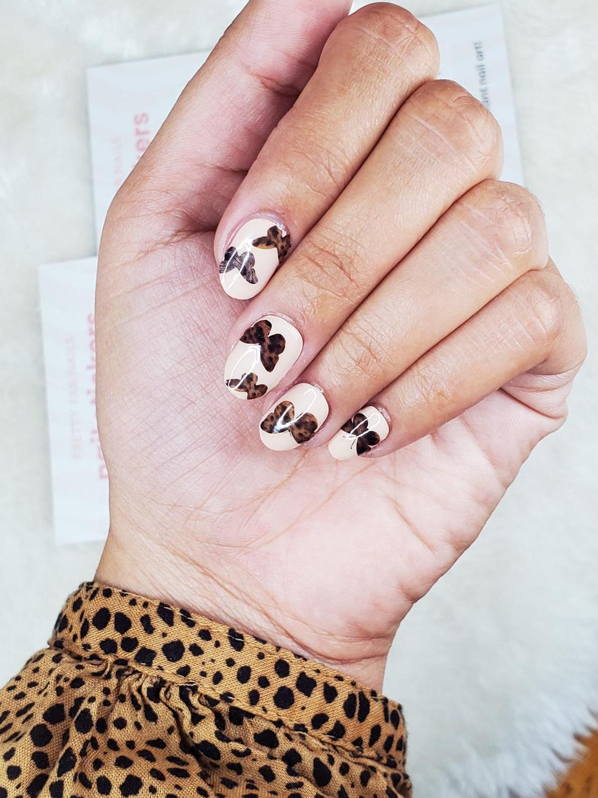 Cute butterfly nail stickers and butterfly nail decals